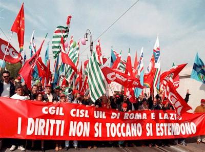 Blocco stipendi statali per i sindacati guerra for Costo seminterrato di sciopero